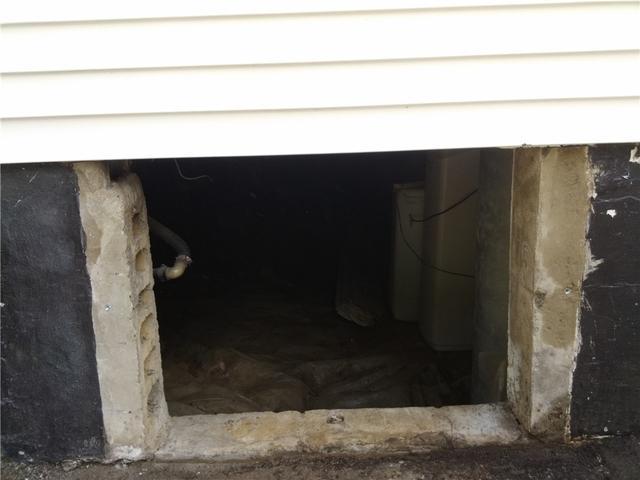 Airtight Crawl Space Door Installed in Weehawken, NJ