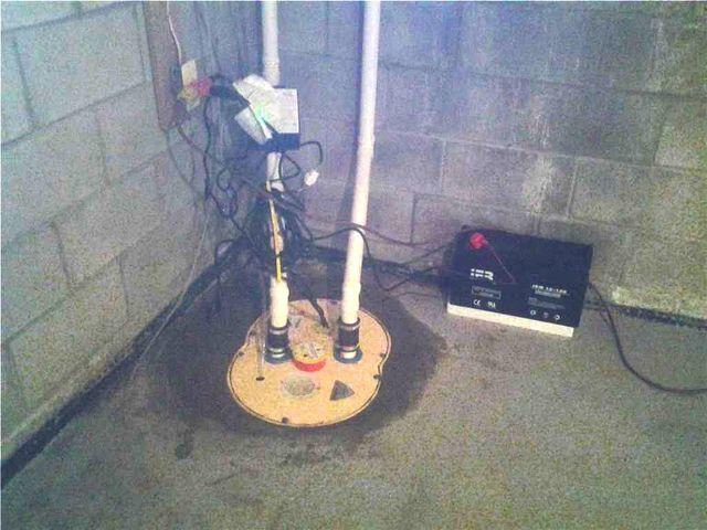 TripleSafe Sump Pump Installation in Whitehouse Station, NJ