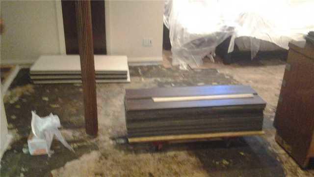 Insulated Floor Installed in Kenilworth, NJ Basement