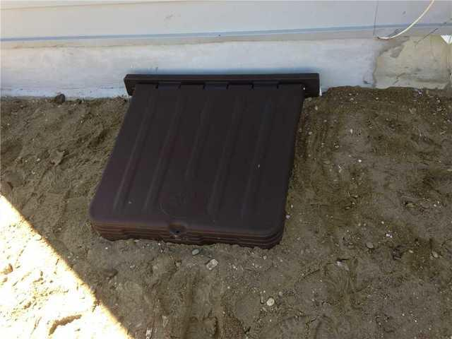 Crawl Space Entry Well Installed in Rumson, NJ