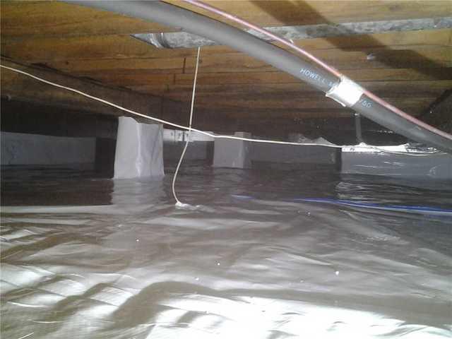 Crawl Space Encapsulation in Sewaren, NJ