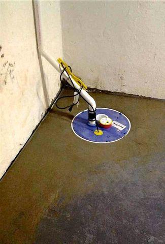 Super Sump Install saves wet basement in Old Bridge, NJ