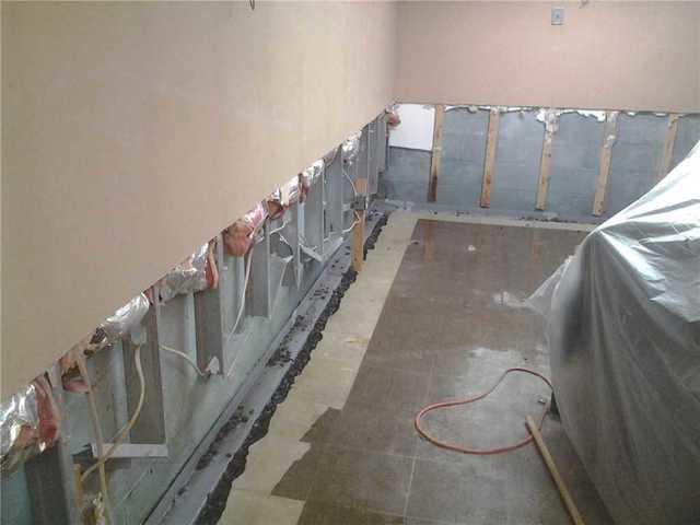 Basement Finishing in Bloomfield With Wall Panels