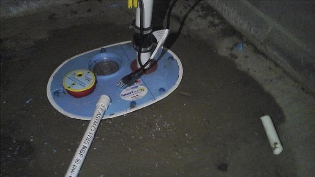 Crawl Space Sump Pump Installed in Oldwick, NJ
