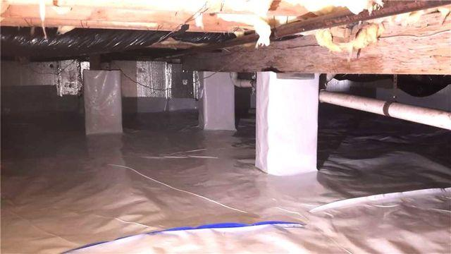 Crawl Space Insulation in Manahawkin