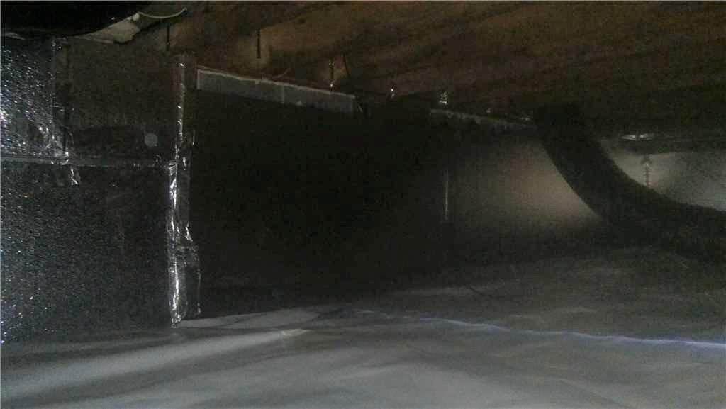 Cinder Block Crawl Space Fixed in Durham, NC - After Photo