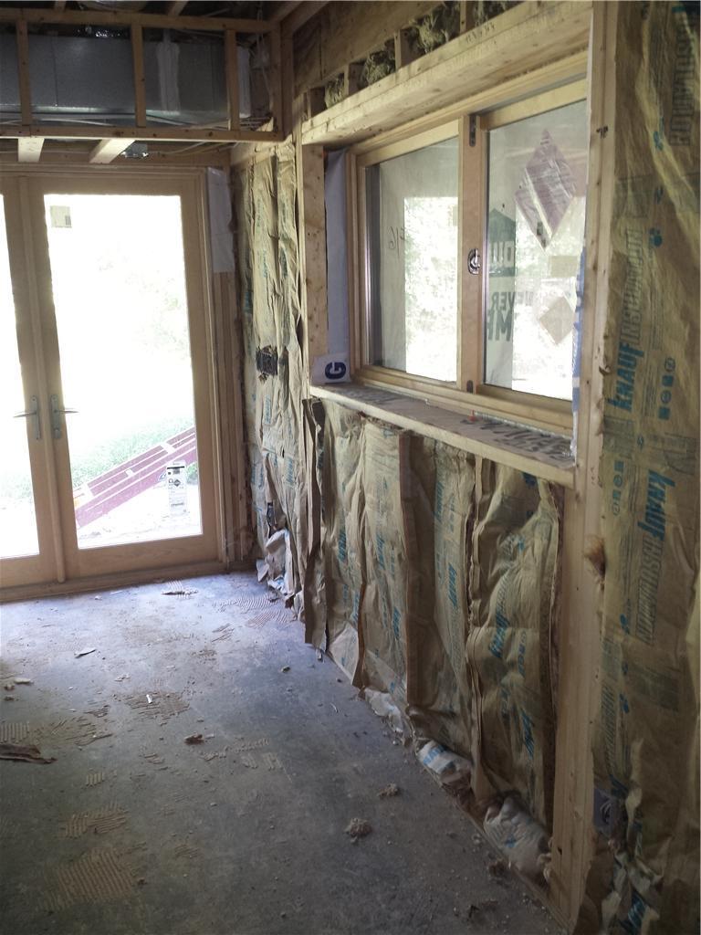 Basement Waterproofing in Chapel Hill, NC - Before Photo