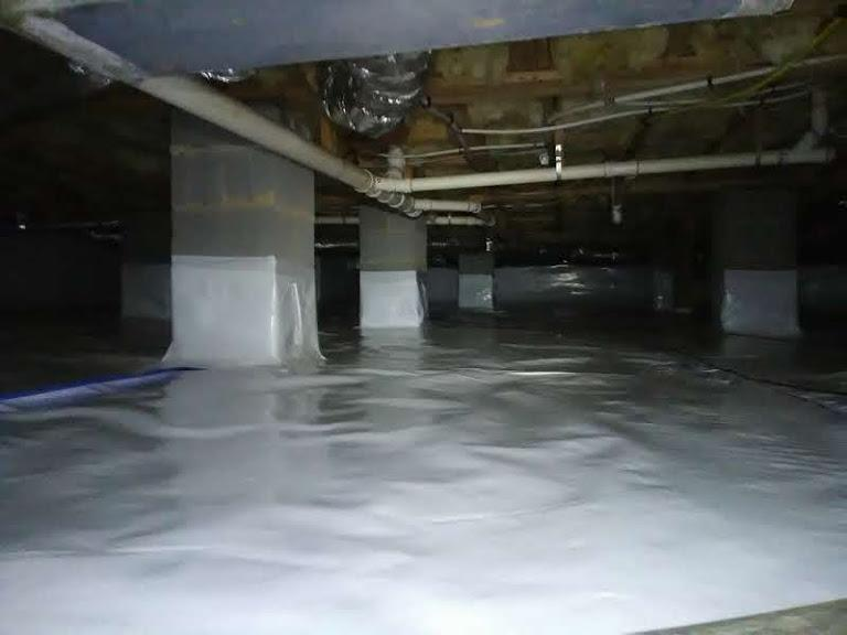 CrawlSpace Repair in Efland, Nc - After Photo