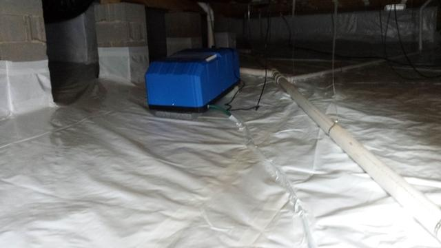 Crawl Space Repaired in Durham, NC - After Photo