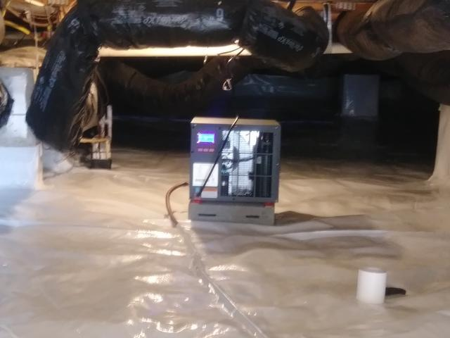Crawl Space Waterproofing in Knightdale, NC