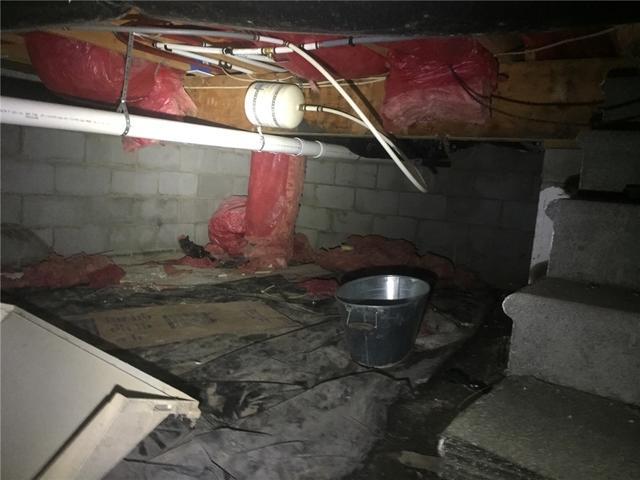 Crawl Space Waterproofing in Raleigh, NC