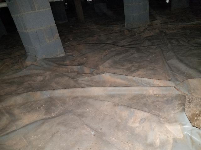 CrawlSpace Repair in Efland, Nc - Before Photo