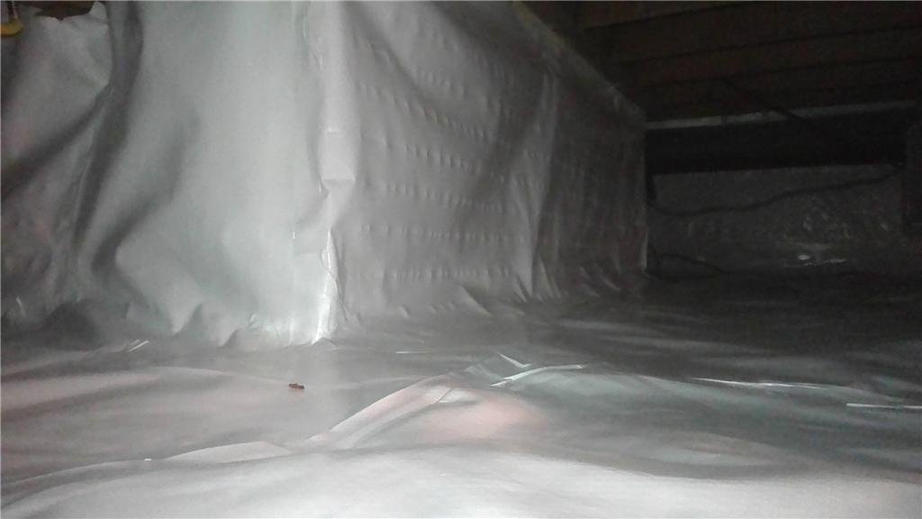 Wet Crawl Space Made Dry in Charlotte, MI - After Photo
