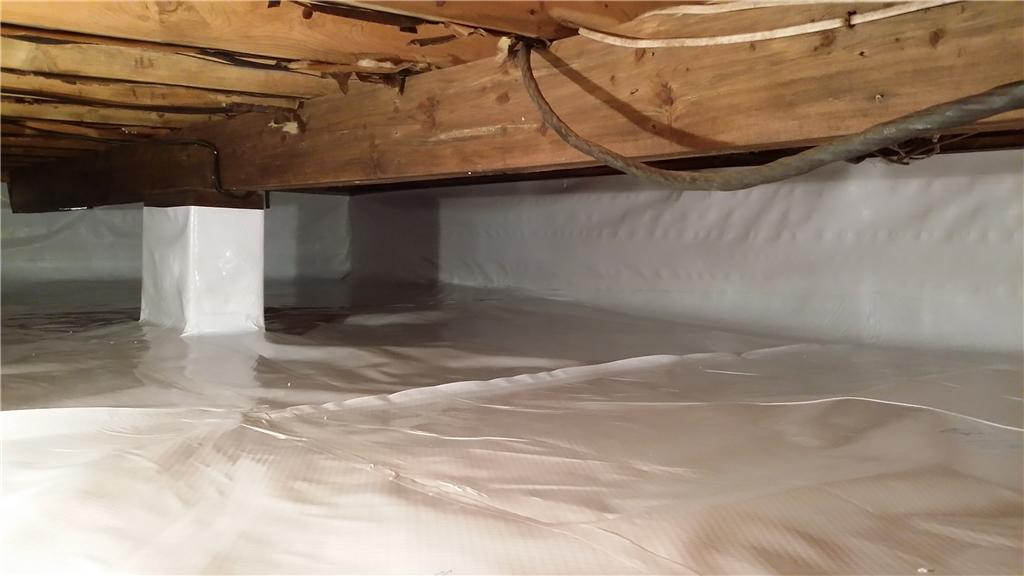 Arcadia, MI Crawl Space Says Goodbye to Mold - After Photo