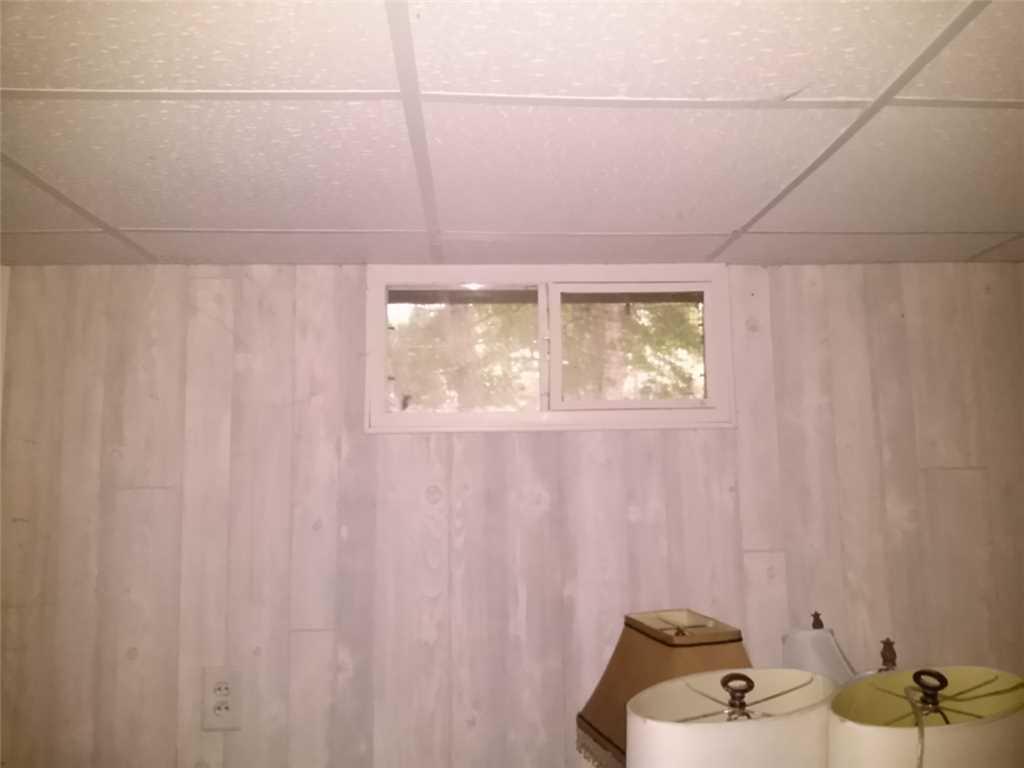 Egress Windows & Wallcoverings Brighten New Buffalo, MI Basement - Before Photo