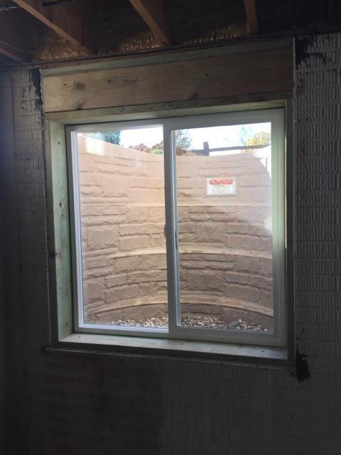 Egress Window Brightens Onsted, MI Basement - After Photo