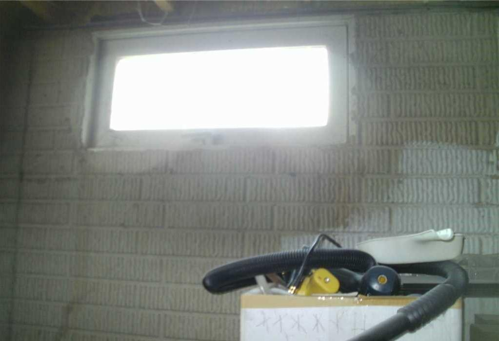 Egress Window Brightens Onsted, MI Basement - Before Photo