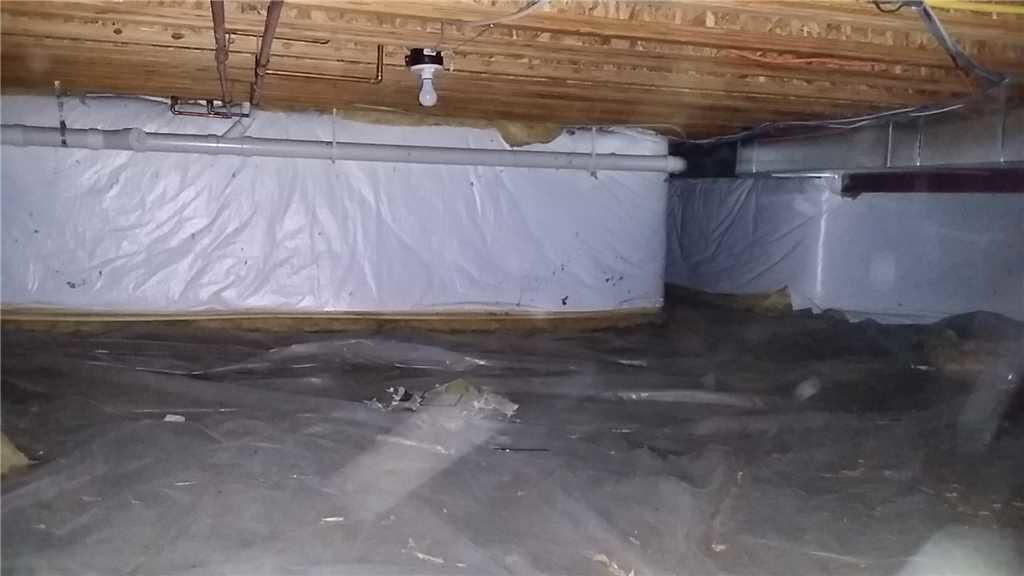 CleanSpace Installation is Vital to Closing the Sale of a Home in Union Pier, MI - Before Photo