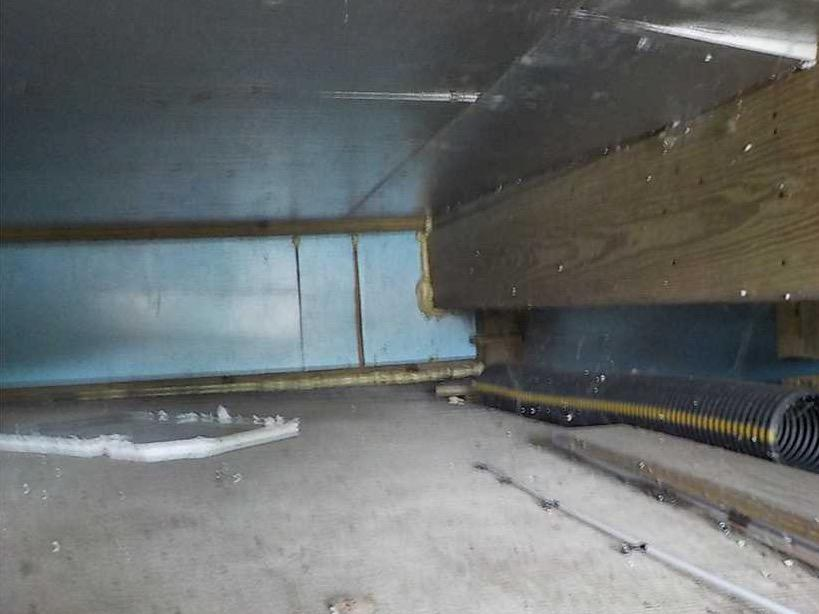 Using SmartJack to Prevent Settlement in Michigan City, IN - Before Photo