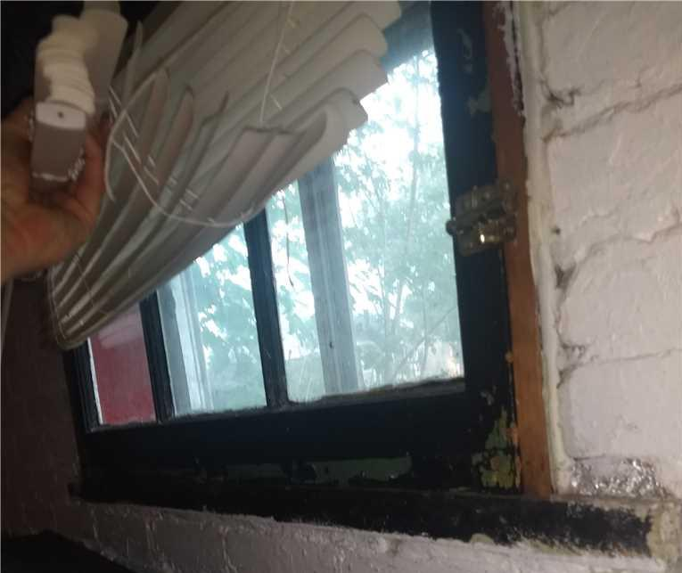 Installing Egress Windows in Michigan City, IN - Before Photo
