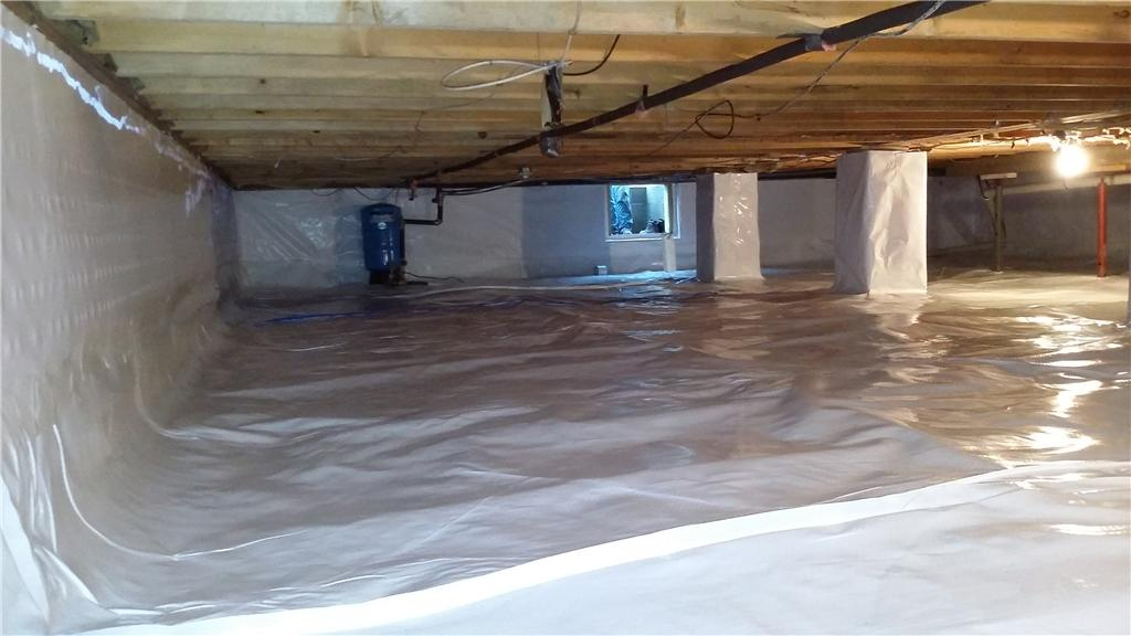 CleanSpace Saves Flooded Gladwin, MI Crawl Space - After Photo