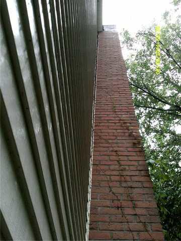 Helical Piers Save Chimney in Ada, MI