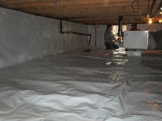Crawlspace in Whitehall, Michigan