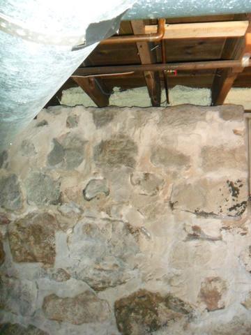 Stone Foundation in Grand Ledge, Michigan