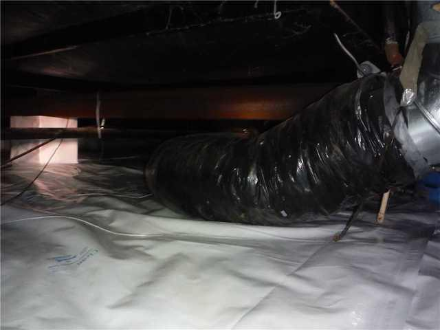 Gaylord, MI Home Installs CleanSpace Vapor Barrier