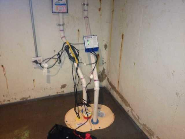 TripleSafe Sump Pump Installed in Comstock Park, MI
