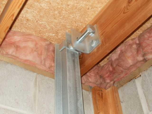 PowerBrace Wall Anchor Assembly Installed in Grand Haven Home