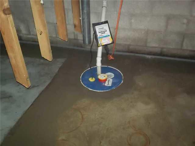 Glen Arbor Home Gets A New Sump Pump