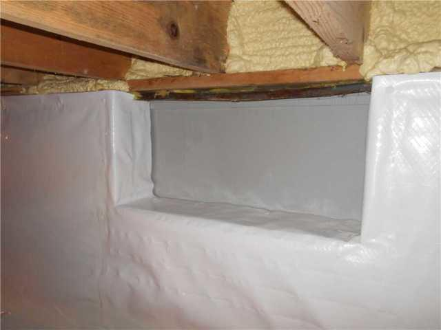 Cheboygan, Michigan Home Seals Off Their Crawlspace From Outside Air