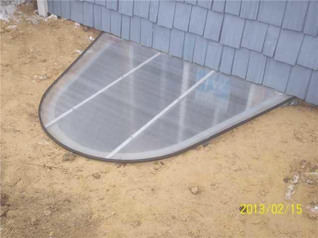 Basement Window Enclosure in Gladwin, MI