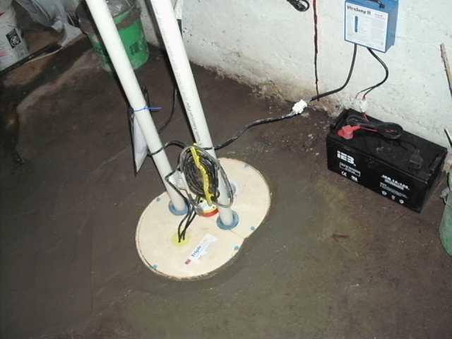 Aging Sump Pump Replaced in Grand Ledge, MI