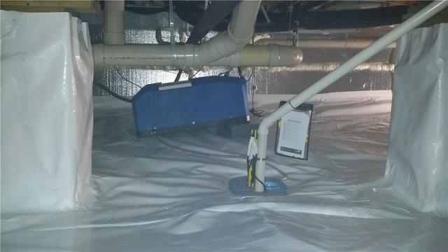 Adding a Full Crawl Space System in Petoskey, MI