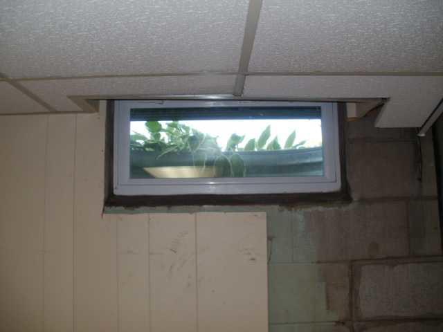 New Egress Window in Cadillac