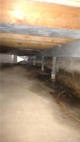 The End of a Leaking Crawl Space in Bear Lake, MI