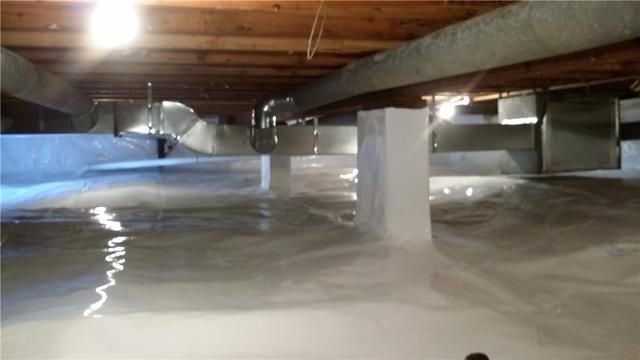 Hale, MI Crawl Space Upgrades to CleanSpace
