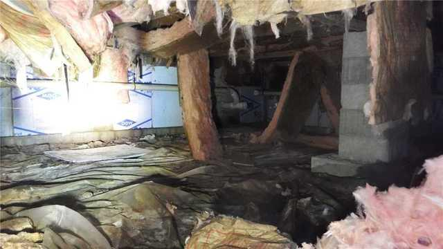 CleanSpace Dries out a Damp Boyne City, MI Crawl Space