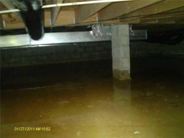 CleanSpace Saves a Coldwater, MI Crawl Space