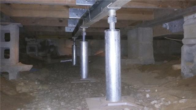 Vicksburg, MI Home Raised and Stabilized with SmartJacks