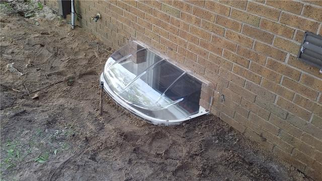 An Airtight Egress Lid and Well Replacement in Traverse City, MI