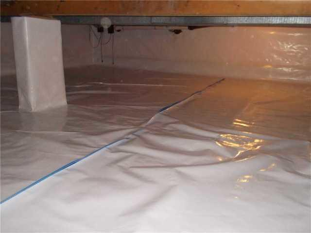 Augusta, MI Crawl Space is Kept Dry with CleanSpace