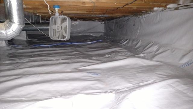 Bellaire, MI Crawl Space Liner Upgraded to CleanSpace
