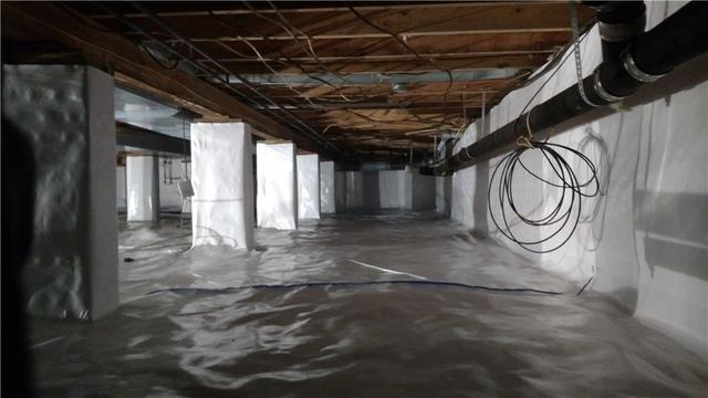 Beulah, MI Crawl Space Encapsulated with CleanSpace