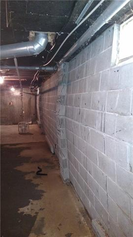 Camden, MI Bowed Walls Secured with PowerBrace System