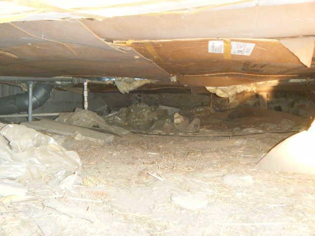 CleanSpace Transforms Kent City, MI Crawl Space