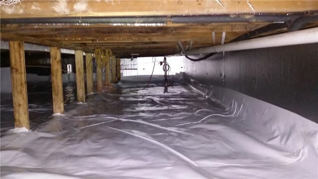 Wet Crawl Space in Rives Junction, MI Dry Thanks to CleanSpace