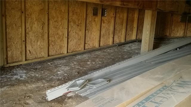 SilverGlo Insulation and CleanSpace Keeps Vermontville Crawl Space Warm and Dry